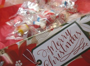 Merry Christmas Candy Tin - Funky Delivery
