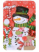 Snowman Holiday Tin with Candy