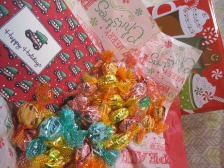 Sugar-Free Holiday Candy Gift Tin - Funky Delivery