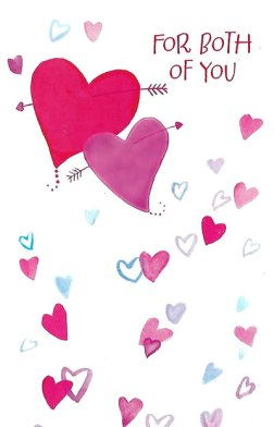 For Both of You Valentine's Day Card for a Couple