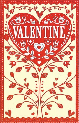 Valentine's Day - Happy Hearts Day Card for Friend or Family