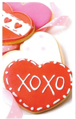 xoxo - Valentine Card for Friend, Sweetheart, Family Member or Child