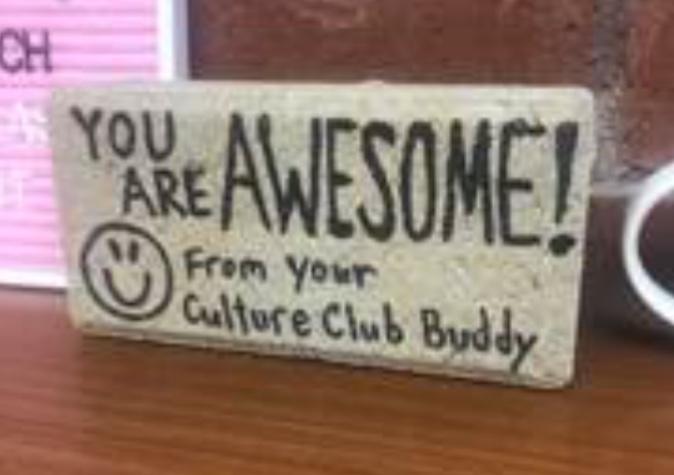 Culture Club Brick in the Mail