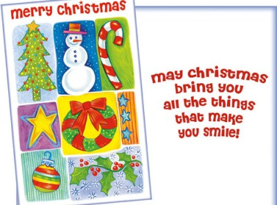 Beloved Christmas Themes - Christmas Card Sent for You