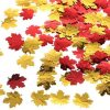 Autumn Leaf Confetti for Thanksgiving Card