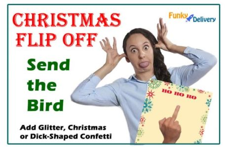 Christmas Middle Finger Letter - Holiday Bird by Mail