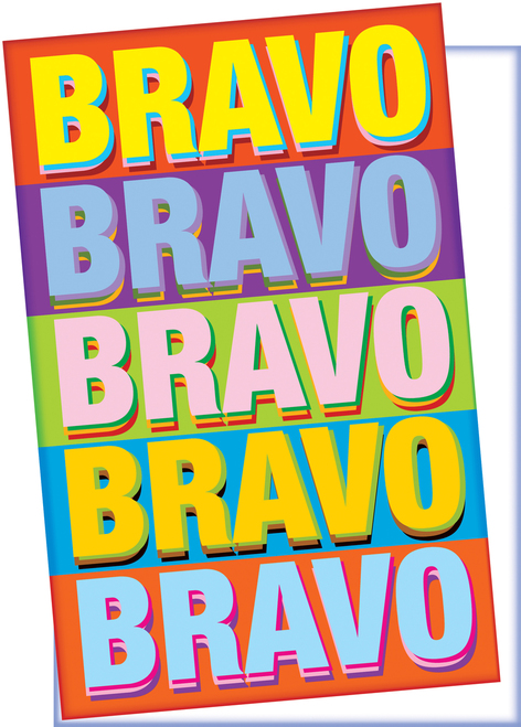 Bravo Congratulations Card