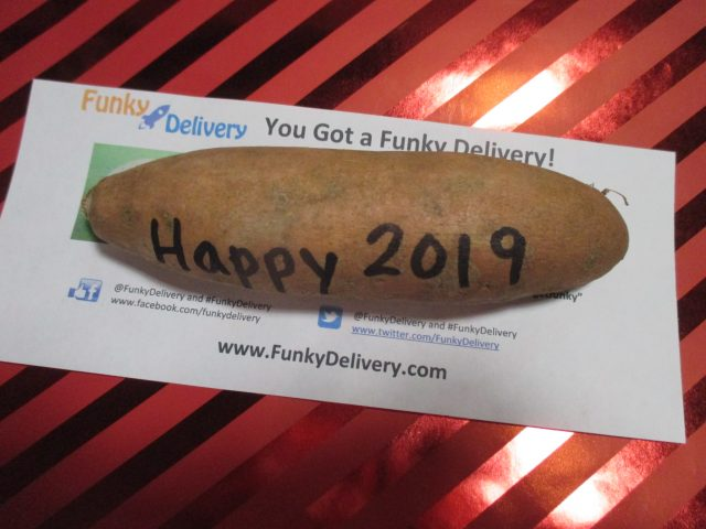 Happy 2019 Potato in the Mail