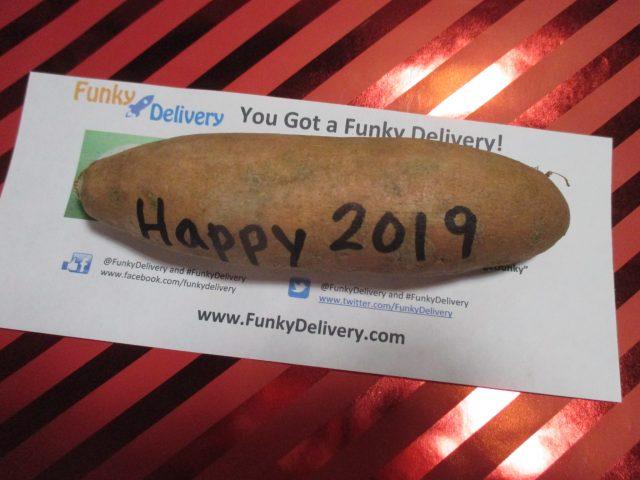 Happy 2019 Potato in the Mail