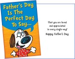Fun Father's Day Card - Glitter or Confetti Card