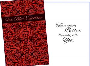 Nothing Better Than Being with You -For My Valentine Card