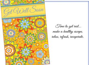 Get Well Soon - Time to get rest... make a healthy escape, relax, refresh, recuperate. - Get Well Card Sent for You