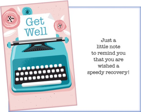 Get Well Card - Send a Note for a Speedy Recovery