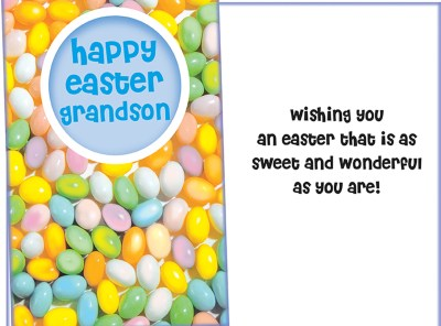 Happy Easter Grandson Card Sent for You