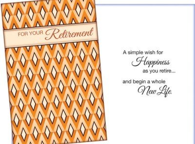 Retirement Card Sent for You