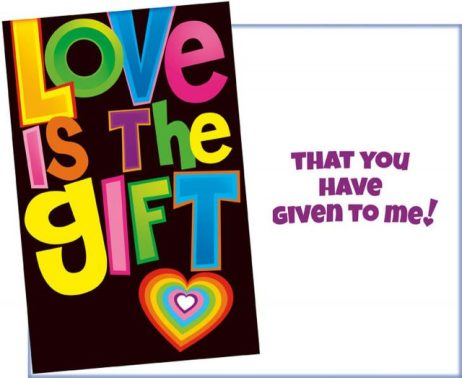 Love is the Gift Card - Greeting Cards Sent for You