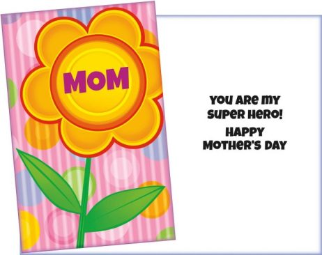 Mom - You are my Superhero- Mother's Day Card Sent for You.