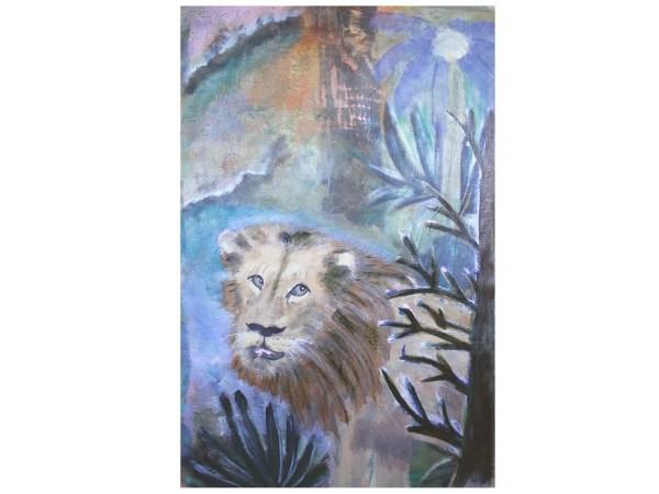 Vulnerable Lion