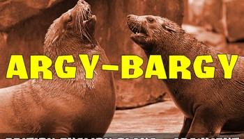 Slang - Argy-bargy
