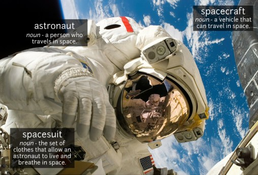 astronaut vocabulary