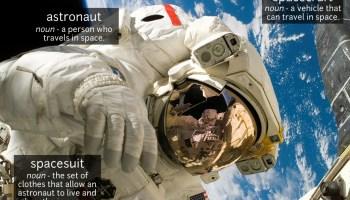 astronaut vocabulary