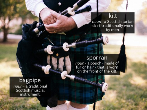 bagpipe vocabulary
