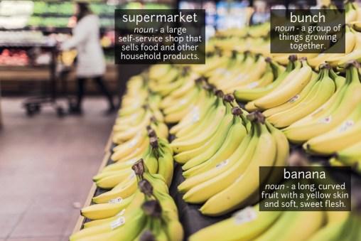banana vocabulary