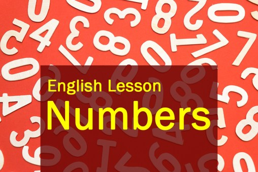 Engish lesson numbers