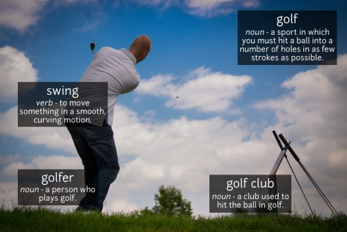 golf vocabulary