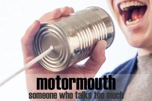 Slang - motormouth