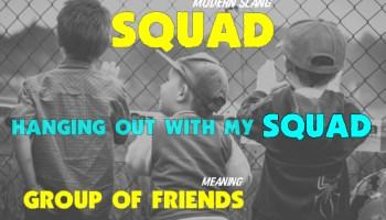 squad slang