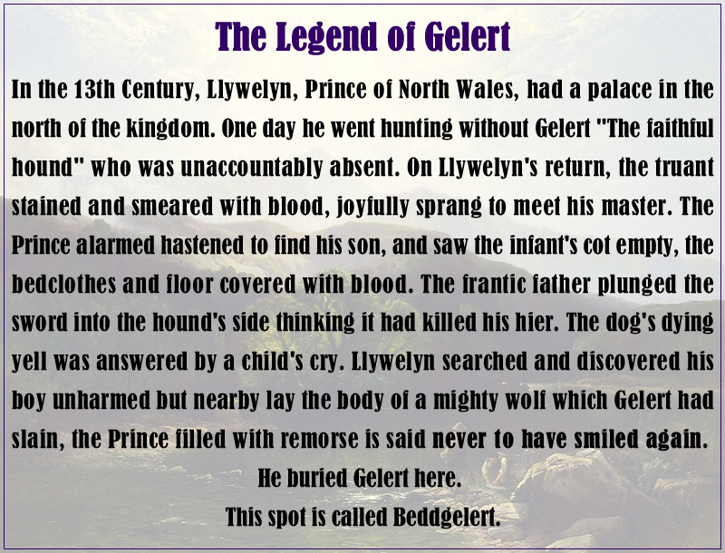 The Legend of Gelert