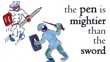 pen is mightier than the sword examples