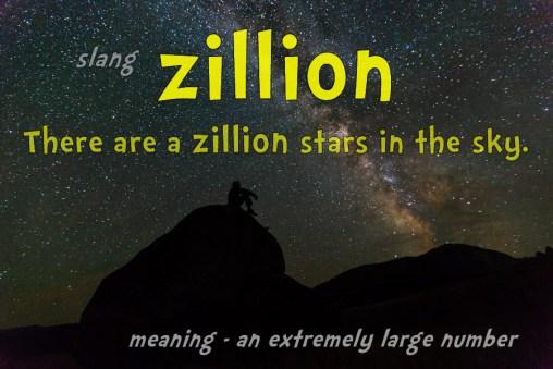 zillion slang