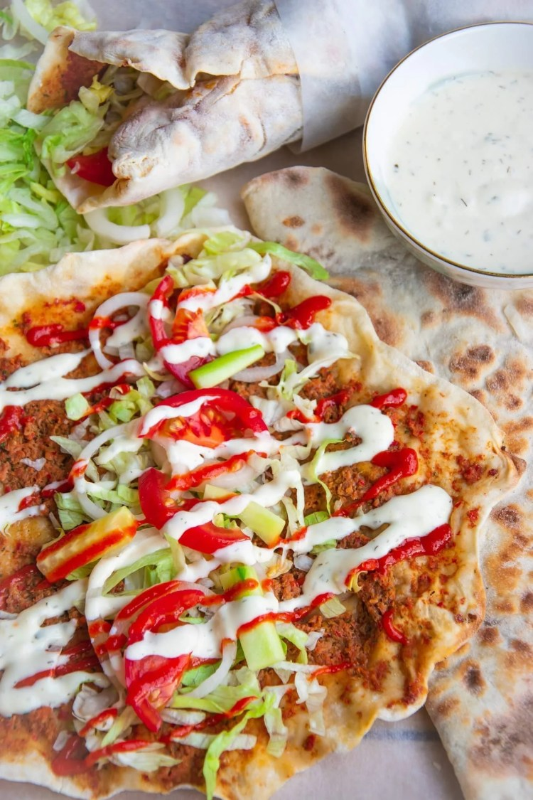 Turkse Pizza Lahmacun