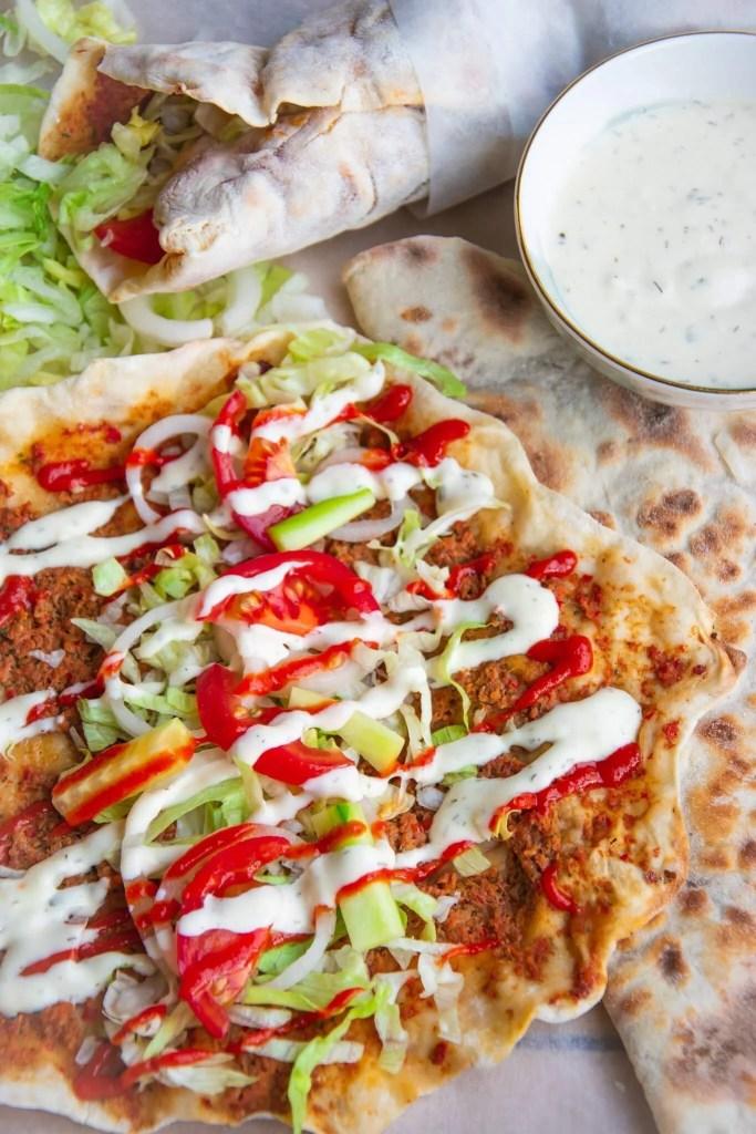 Lahmacun / Turkse Pizza
