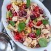 Salade tonijn artisjok en olijven