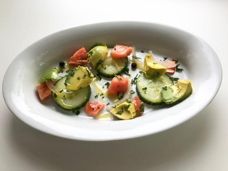Pickled Salmon Salad Platter