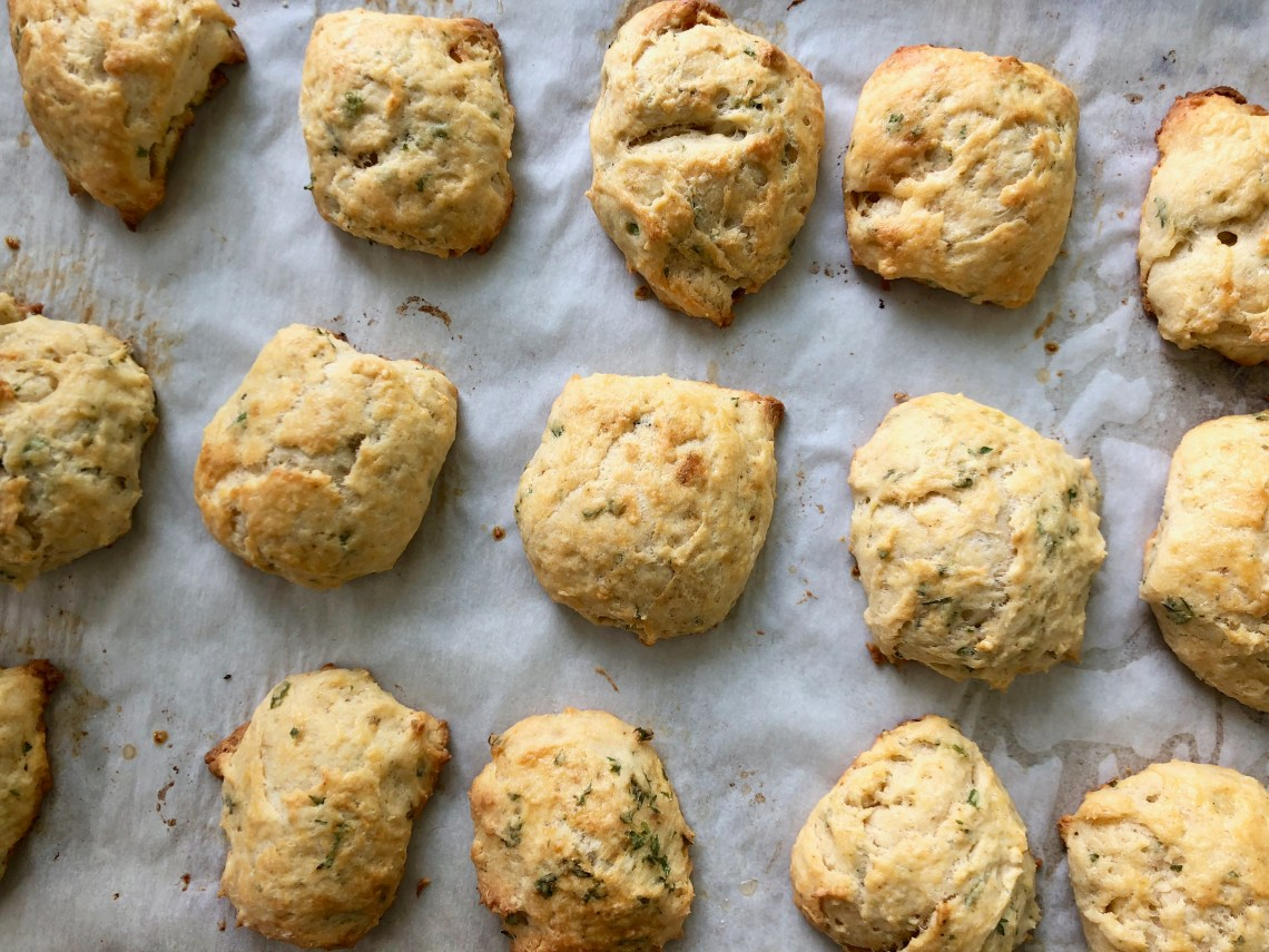 Lobster-Butter Biscuits Sheet Tray
