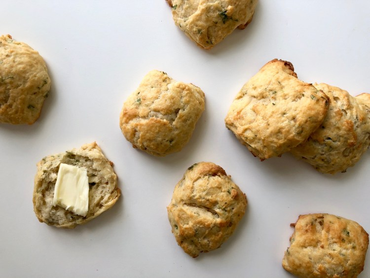 Lobster-Butter Biscuits with Butter