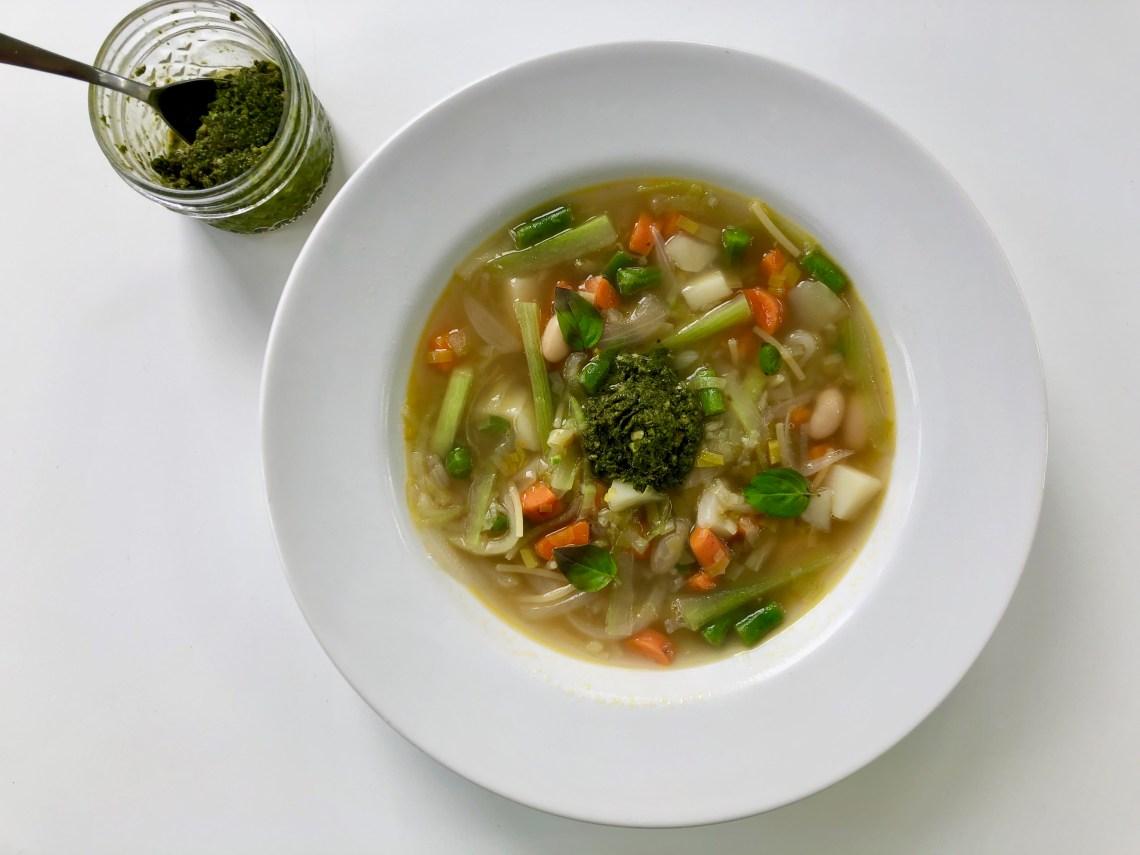 Cucuzza Pesto Soup 2
