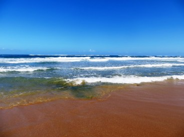 The warm Indian ocean