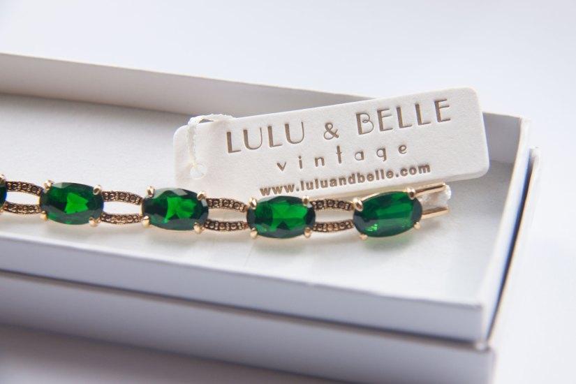letterpress hang tags for Lulu & Belle
