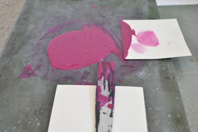 letterpress printing process