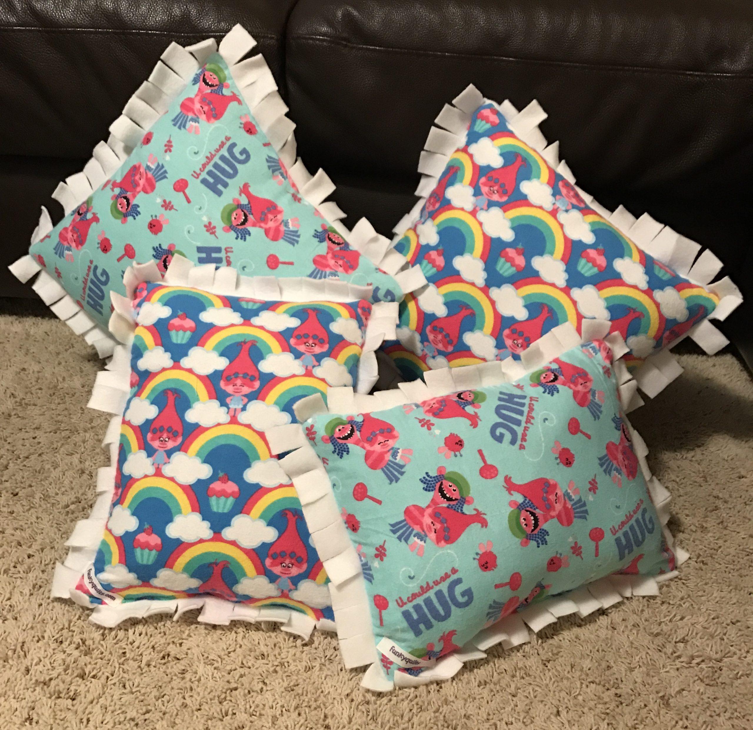 custom t shirt pillow