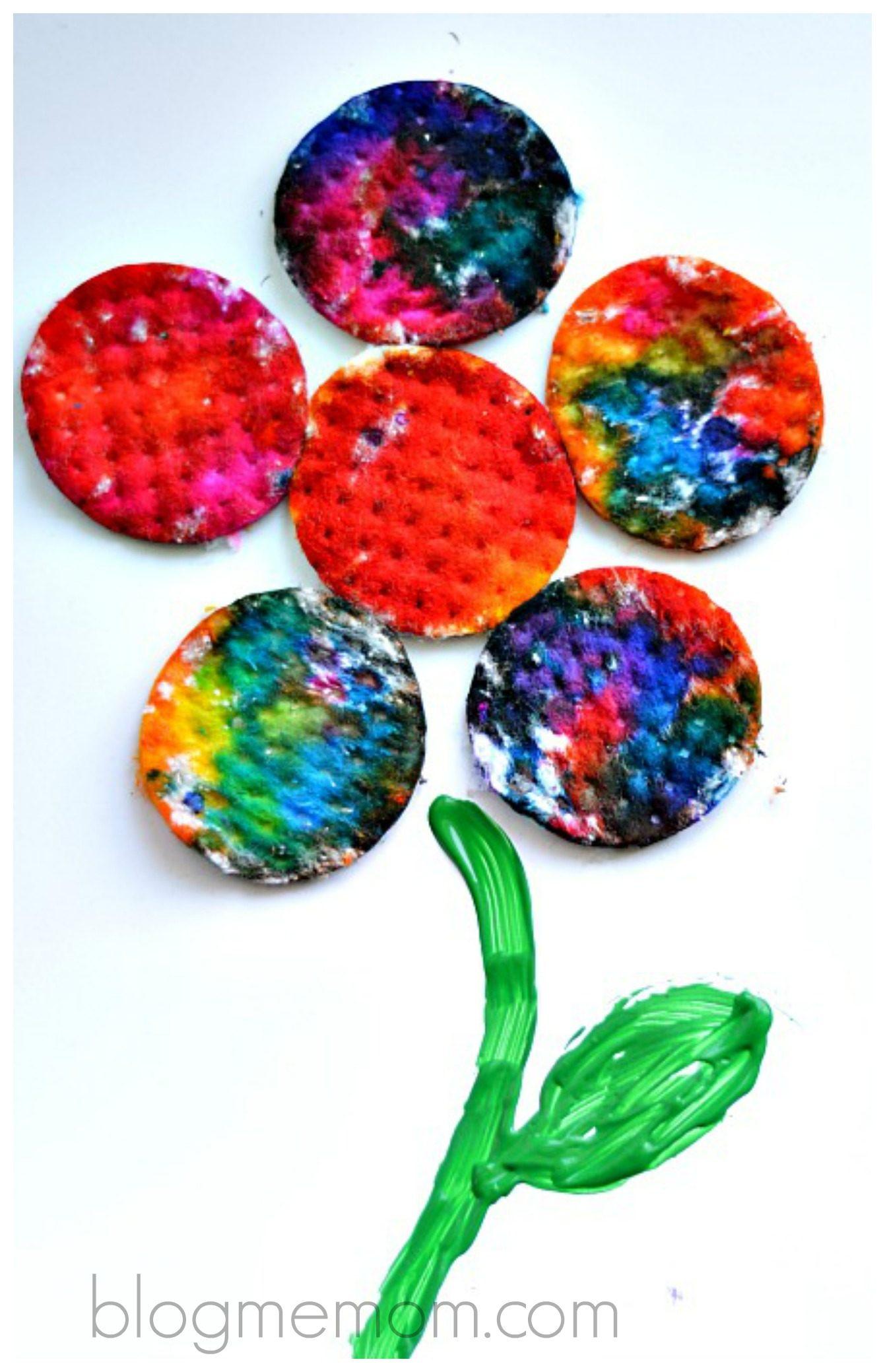 Art Activities For Kids Spring Flower Craft