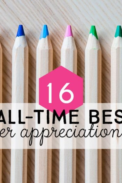 Post Header - 16 DIY teacher Gifts