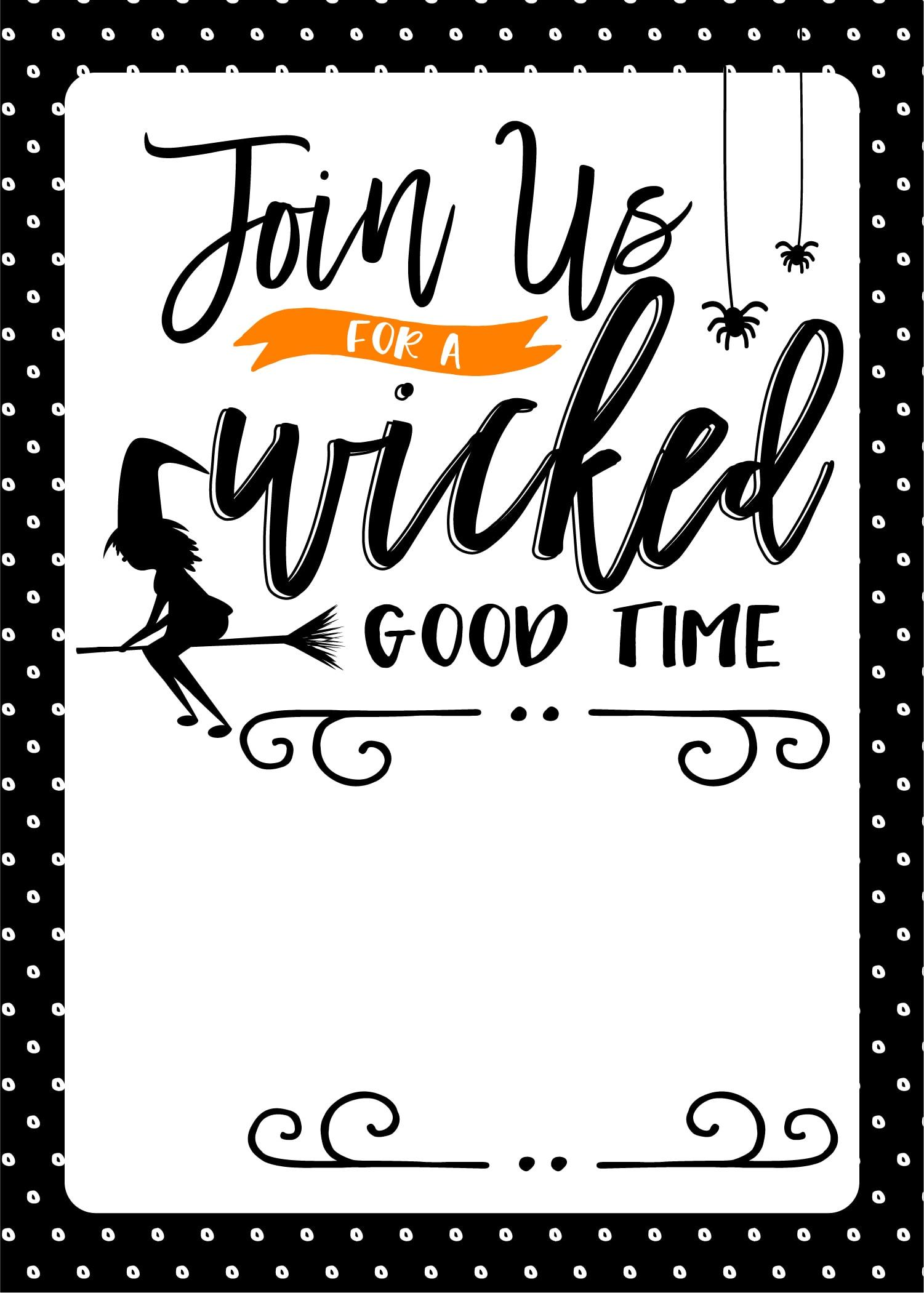 Free Halloween Party Printables Fun Loving Families