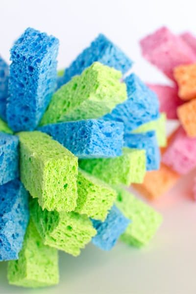 How to make sponge balls for summer water games