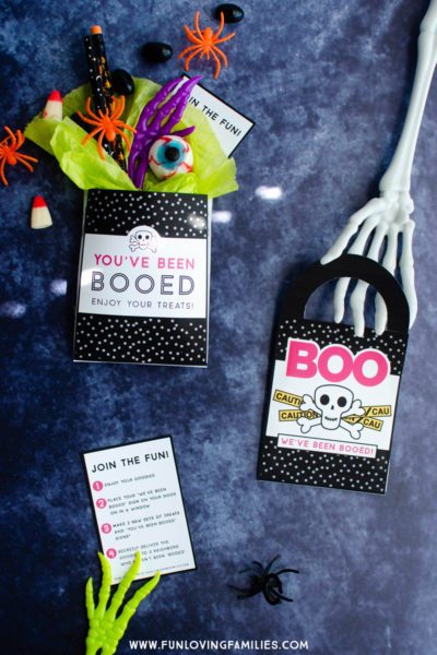 Booed Halloween Game printables